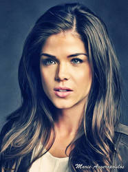 Marie Avgeropoulos (Glamour) by thephoenixprod