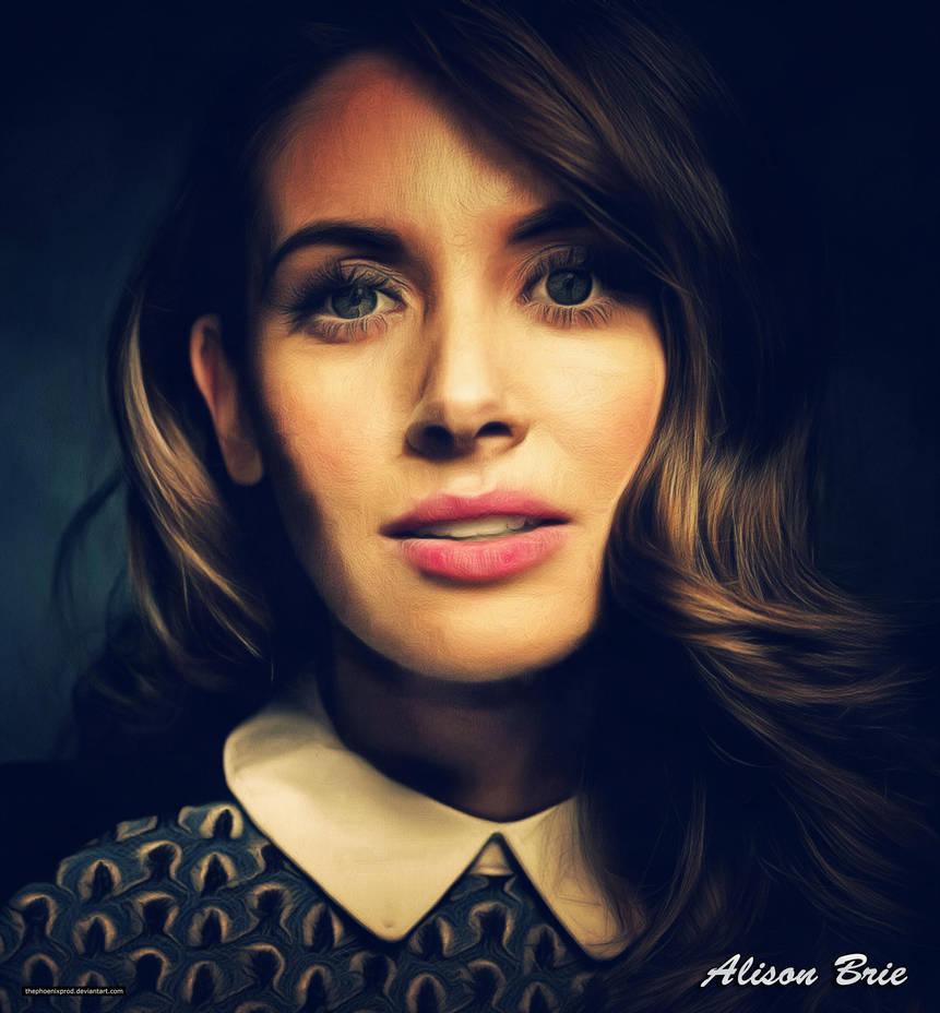 Alison Brie (Golden) by thephoenixprod