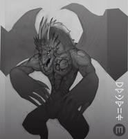 Ware Dragon by MangoKingoroo