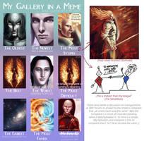 My gallery in a meme by Sirielle