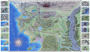 Beleriand i Krainy ... (PL) by Sirielle