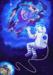 An Astronaut, My Childhood Dream by Sirielle