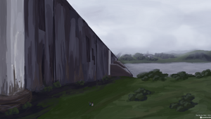 The Border Wall by Landmine752