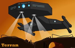 Terran Battlecruiser by Landmine752