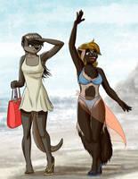 Seaside Rendezvous by MykeGreywolf