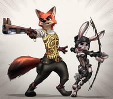 Feral Fantasy XII by MykeGreywolf