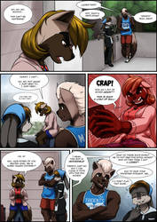 Comic: Musteladies Ch.1, Pg.8 by MykeGreywolf