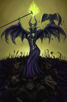 Epic Disney - Maleficent by SteveSketches