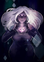 Steven Universe: Amethyst by valentina-s