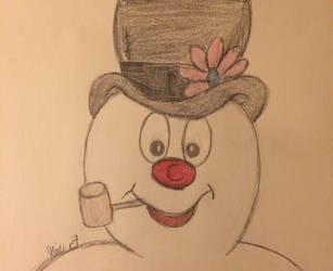 Frosty the snowman  by LOZRocksmysocks77