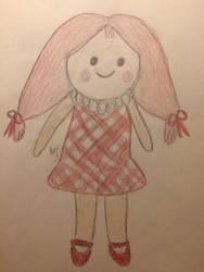 Misfit Doll by LOZRocksmysocks77