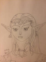 Princess Zelda by LOZRocksmysocks77