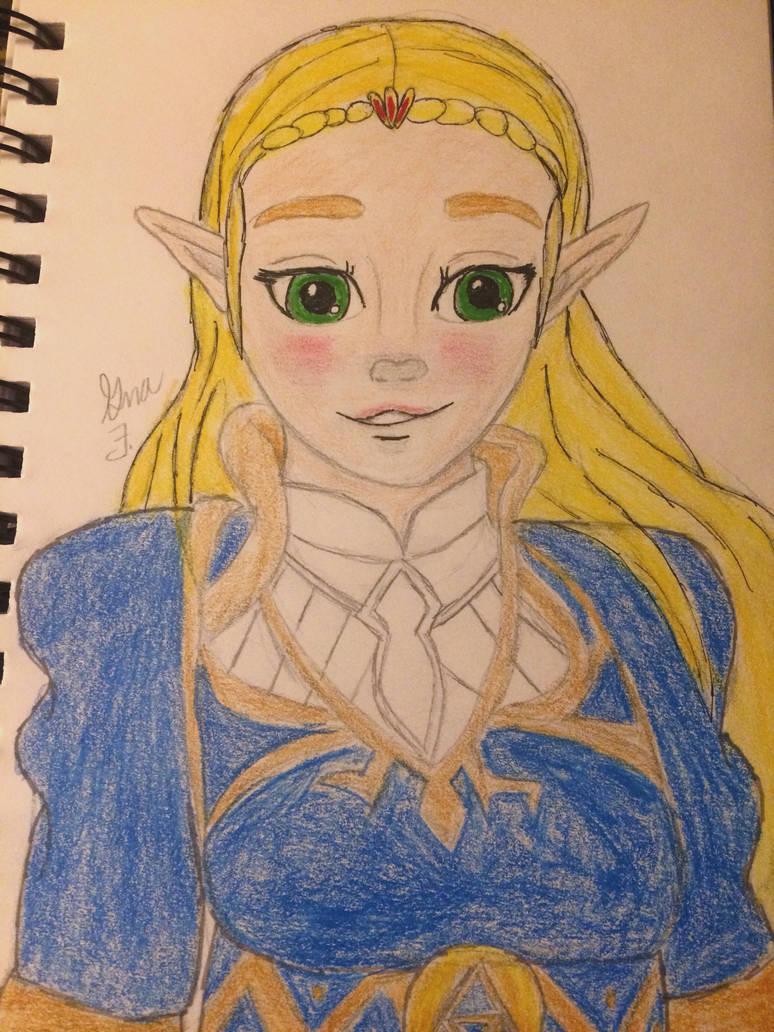 Princess of Hyrule  by LOZRocksmysocks77