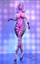 Sadira - Goddess Outfit by LuciferSynd