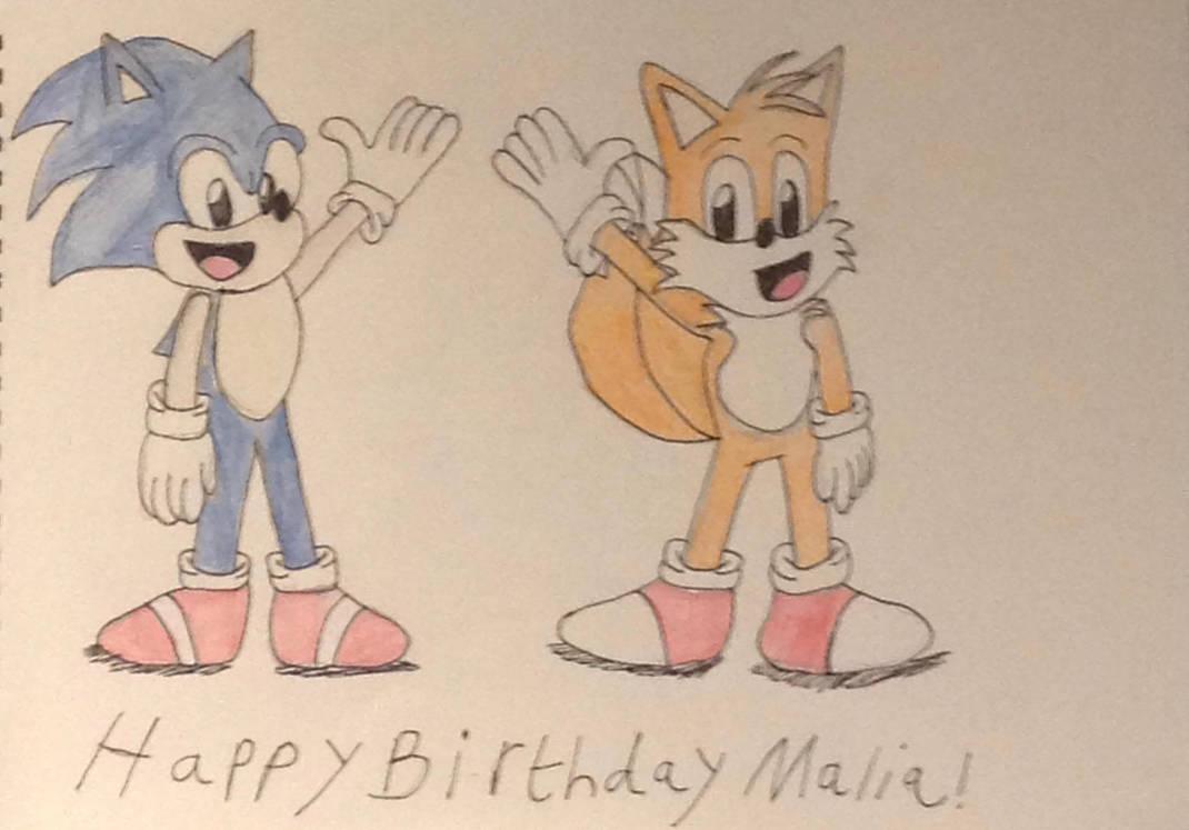 Happy Birthday Malia! by Burridgefox