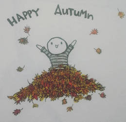 Happy Autumn by AdorkableSpaz