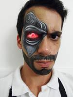 Kano facepaint by froggyjoseguy