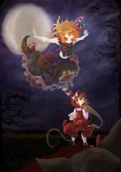 A ground as Red as a Riding Hood by Akiro-Atalanta