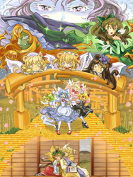 The Wonderful Maiden of Oz by Akiro-Atalanta