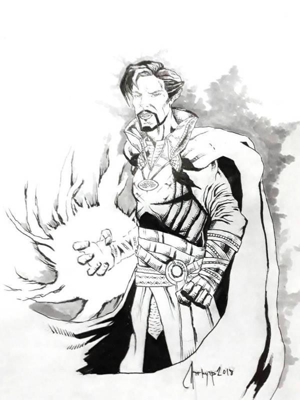 Doctor Strange by DarkMotoMark