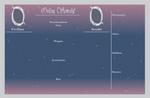 Orion Senshi Chara Sheet: EVENT by Rachel8889