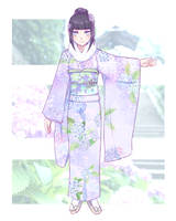 .:BnHA-Pro:. Hatsumode Furisode by Kumano-san