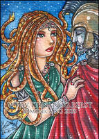 Medusa ACEO by Monica-NG