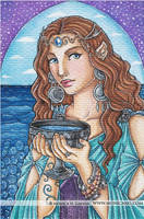 Queen of Cups by Monica-NG