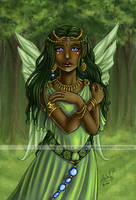 The Green Faery by Monica-NG