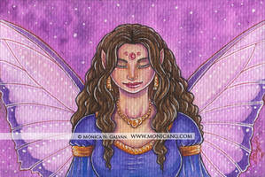 Pensive Fairy by Monica-NG
