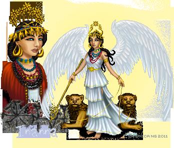 Inanna I by Monica-NG