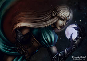 The Moon Must Die by Monica-NG