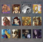 2012 Summary of Art by Monica-NG
