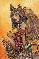 Warrior Sphinx by Monica-NG