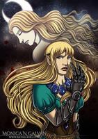 Angisu - Moonslayer Cover by Monica-NG