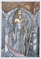 Hel ACEO by Monica-NG