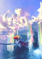 RainbowDashCD by freeedon