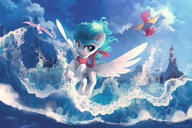 Flying over by freeedon