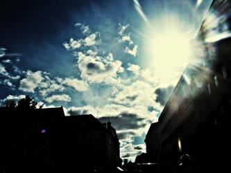 Hello blue sky by AmurgDeToamna