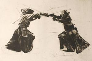 Kendo fighters by pierzyna