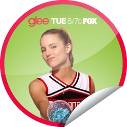Quinn GLEE Official Sticker by kinkysweet