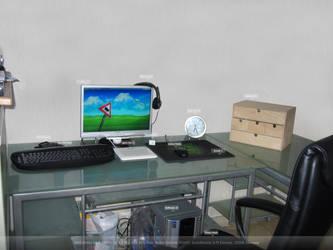 My Workstation by d4rk1llu