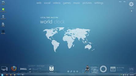 My Desktop by vikraj