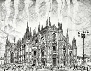 Milan Cathedral by matanchaffee