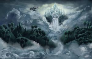 Above the mist by EpsilonEridani