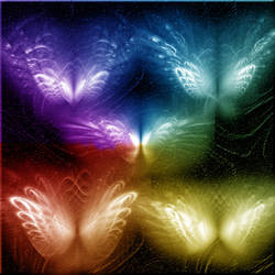 fractal butterflies brushes by DesigningDivas