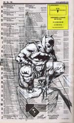 Phone Sketch Book_Batman by Santolouco