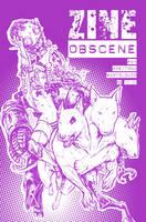 Zine Obscene_cover by Santolouco