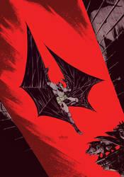 Dark Knight 75 by Santolouco