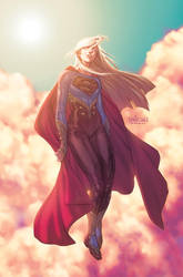 40 Days of Supergirl by Santolouco